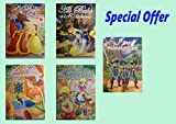Locandina SUPER OFFERTA 5 DVD - Le fiabe più famose ( La Bella Addormenta, Alice nel Paese delle Meraviglie, i Tre Moschettie, La Bella e la Bestia, Ali Babà e i 40 Ladroni)