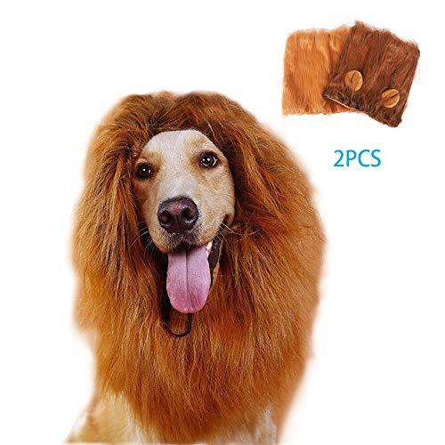 Kostüm Für Erwachsene Richter - UTOPIAY Lion Löwe Mähne für großen Hund- Foto-Prop, Kostüm, Perfekter Löwenhut für Haustiere auf Halloween- und Cosplay-Partys - Lustige, süße Kopfbedeckung