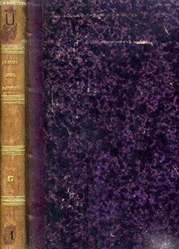 ANALECTA JURIS PONTIFICII, 17e SERIE, DISSERTATIONS SUR DIVERS SUJETS DE DROIT CANONIQUE, LITURGIE ET THEOLOGIE