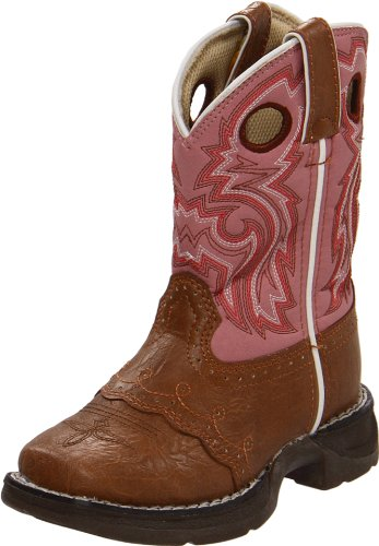 Durango Lil' Flirt Synthétique Santiags Pink-Brown