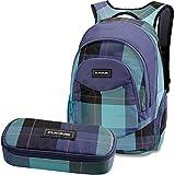 DAKINE 2er SET Rucksack Schulrucksack Laptoprucksack 25l PROM + SCHOOL CASE Mäppchen Aquamarine