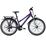 RALEIGH Damen FUNMAX Fahrrad, darkscarlet, 50