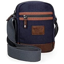Shoulder Bag Pepe Jeans Arblay, 21 cm, Azul