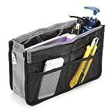 Best Handbag Organizer Inserts - Mangalam Black Nylon Bag Oraganizer Review