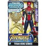 Avengers: Infinity War - Iron Spider Titan Hero Power FX (Personaggio 30cm, Action Figure), E0608103