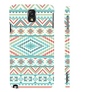 Enthopia Designer Hardshell Case WINTER AZTEC Back Cover for Samsung Galaxy Note 3