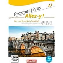 Perspectives - Allez-y !: A1 - Kurs- und Übungsbuch mit Lösungsheft und Vokabeltaschenbuch: Inkl. komplettem Hörmaterial (3 CDs) und Video-DVD