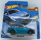 Hot Wheels 2018 2016 BMW M2 Metallic Blue 3/10 Factory Fresh 121/365 (Short Card)