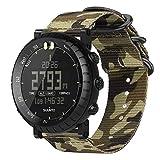 FINTIE Cinturino per Suunto Core - Morbido Nylon Sport Watchband Wrist
