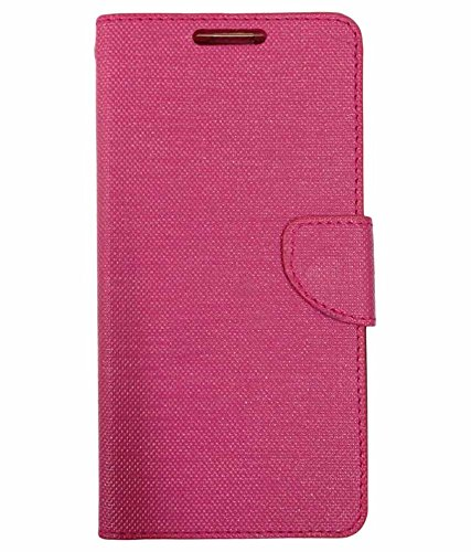 ZYNK CASE FLIP COVER FOR MOTO E3 POWER PINK