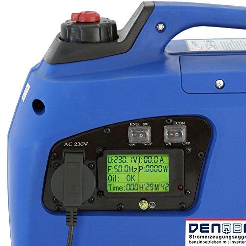 Denqbar DQ1200 digitaler Inverter Stromerzeuger 1,2 kW - 5