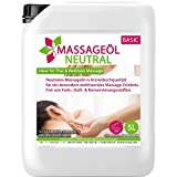 Massageöl neutral 5 Liter