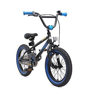 51gu4g2odnL. SS300 BIKESTAR Bicicletta Bambini 4-5 Anni da 16 Pollici Bici per Bambino et Bambina BMX con Freno a retropedale et Freno a…