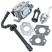 Sharplace Kit De Filtro De Combustible Del Carburador para Stihl Motosierras 021 023 025 Ms210 Ms230 Ms250