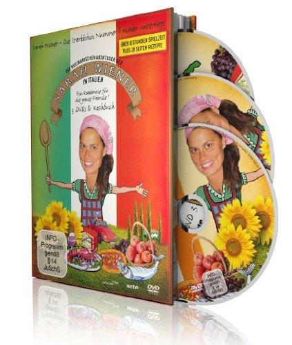 Die kulinarischen Abenteuer der Sarah Wiener in Italien (3 Discs + Buch)