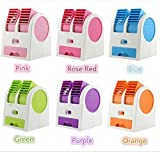 Mini Fan & Portable Dual Bladeless Small Air Conditioner Water Air Cooler Powerd by Home And Kitchen And Office Desk And Reading Time And Small Spec Special