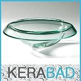Glaswaschschale KBG9803 GlasWaschtisch Waschschale Aufsatzwaschbecken