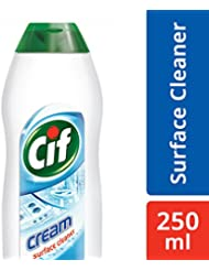 Cif Cream Surface Cleaner, Original White - 250 ml