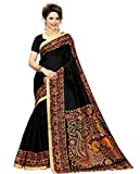 #9: Art Decor Saree Printed Cotton Blended Kalamkari Art Silk Saree