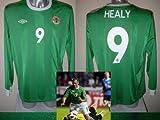 Nordirland David Healy Shirt Trikot Erwachsene XL BNWT Fußball langen Ärmeln Fußball Top