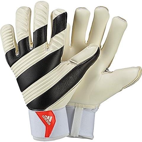 Adidas - Classic Pro Gants de gardien de but pour adulte - Multicolore (Blanc/Noir/Rouge Solar) - 9