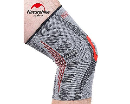 HYSENM Kniebandage Kniestütze Knieschutz Knie Unterstützung Knie Wärmer für Laufen Wandern Bergsteigen ein Stück, M