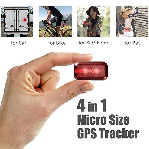 Haodene Mini GPS Tracker, Nuevo T630 Mini localizador en Tiempo Real para...