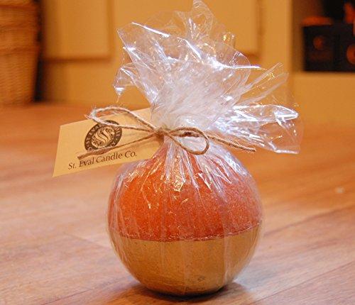 St Eval perfumada vela de oro sumergido - Naranja y Canela - rústico perfecto regalo de Navidad o mesa de comedor característica.