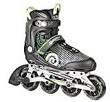 HUDORA Inliner Inline-Skates RX-90, Gr. 39, für Jugendliche und Erwachsene, schwarz/grün