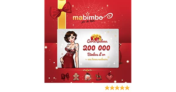 Carte Cadeau Ma Bimbo   200 000 Bimbos Du0027or + Une Tenue Exclusive