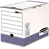 Bankers Box 1131102 Archivschachtel 10er Pack, 200 mm, A4