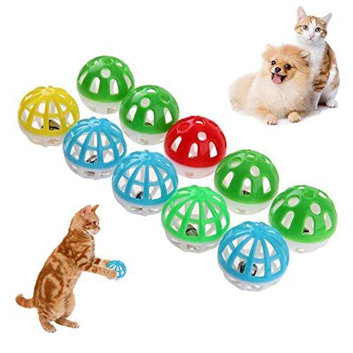 LLLLDDLLLDM Katze Ball Spielzeug Ultra Ball Magic Roller Ball, hohl, 2er Pack -