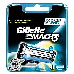 Gillette Mach 3 Cargador 8...