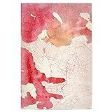 artboxONE Poster 45x30 cm Städte Reykjavík Island II -
