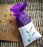 Beito Natürliche Lavendel Dry Flower Taschen Dunkle Purple- natürlicher Geruch Duft für Aromatherapie-Car Closet-Schubladen-Locker-Schuhschrank (1 Stück)