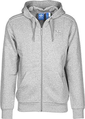 adidas Herren Trf Series Fz Sweatshirt Grau/Brgrin
