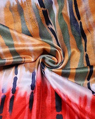 Whoinshop -  Vestito  - fasciante - Donna Orange