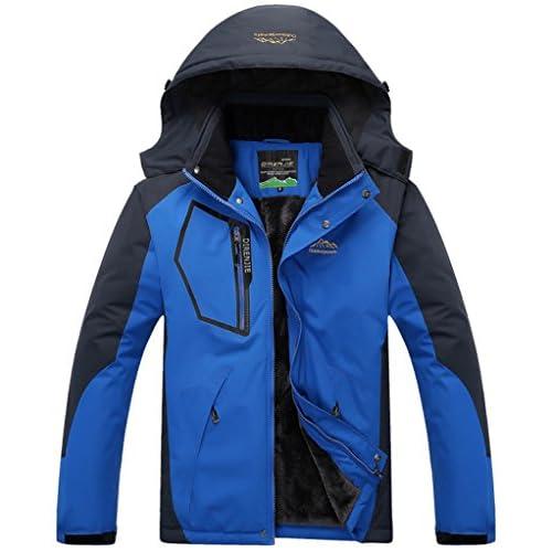 51guEYlb5AL. SS500  - Salamaya Men's Winter Outdoor Waterproof Mountain Fleece Running Ski Jacket Coat Sportwear