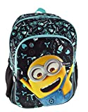 Graffiti Despicable Me Mochila Escolar, 44 cm, Negro (Black)
