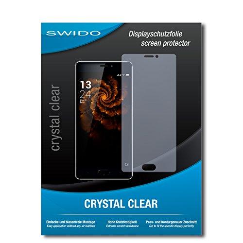 SWIDO Schutzfolie für Allview X3 Soul Pro [2 Stück] Kristall-Klar, Hoher Härtegrad, Schutz vor Öl, Staub & Kratzer/Glasfolie, Bildschirmschutz, Bildschirmschutzfolie, Panzerglas-Folie