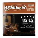 D'addario Ez900 .010 - .050 85 / 15 Grea...