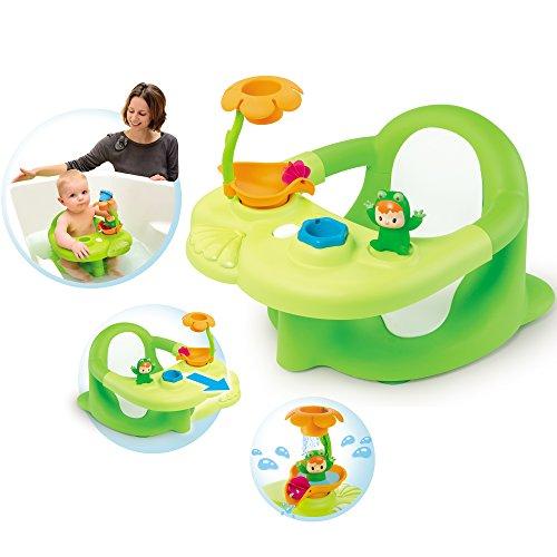 Baby-Badesitz und Activity-Tablett mit Schaufelrad, 49x26 cm, grün - Badespaß Badewannen-Sitz Babysitz Baby Bade Spielzeug