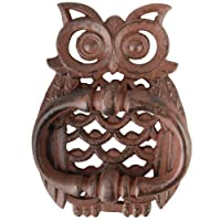 Fallen Fruit Owl Door Knocker