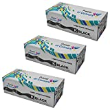 Power of Colours 3 Compatible Noir Cartouches de Toner pour Epson AcuLaser M1200 (3200 Pages)
