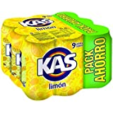 Kas refresco de Zumo de Limón - Pack de 9 x 33 cl - Total: 2970 ml