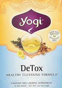 Yogi - Tea, (Organic) , Ahf, De-Tox 16 Bag
