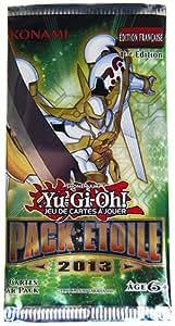 Konami - Pack Etoile de 3 Cartes Yu Gi Oh