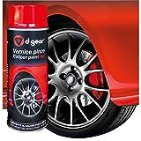 D-gear - Aerosol pintura spray de alta temperatura roja para pinzas de freno de coche, Tuning