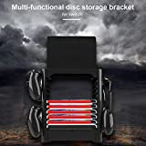 Alftek Multifunction Game Disk Storage Tower CDs Controllers Holder Shelf for Nintendo Switch Console