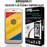 Roxel 9H Hardness Toughened Tempered Glass Screen Protector for Moto C